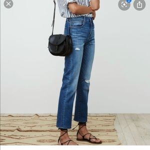 Madewell highrise cruiser straight 29